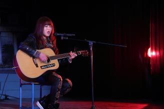 2011年12月29日晚,职教部10级2012元旦文艺晚在学校大礼堂隆重举行。.JPG