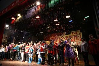 2012.12.25上午,常德师范学前教育专业10级学生毕业专场演出在学校大礼堂隆重举行。.JPG