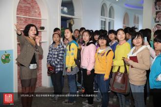 3月29日上午,我校学前教育专业12级近600名同学到市第一幼儿园参观学习。.JPG