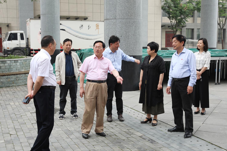市政协领导赴职教大学城专题调研
