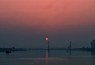 邓超《三桥渔晚》.jpg
