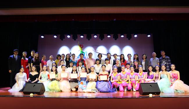 艺术系举办音乐教育专业首届五项全能比赛