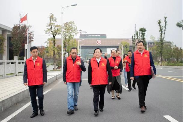 湖南幼专开展众创平安志愿日活动