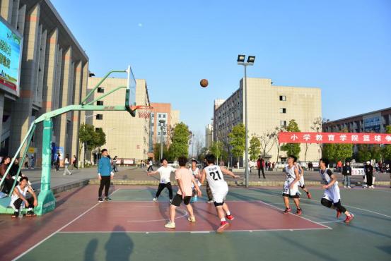 小学教育学院男子篮球赛顺利举行