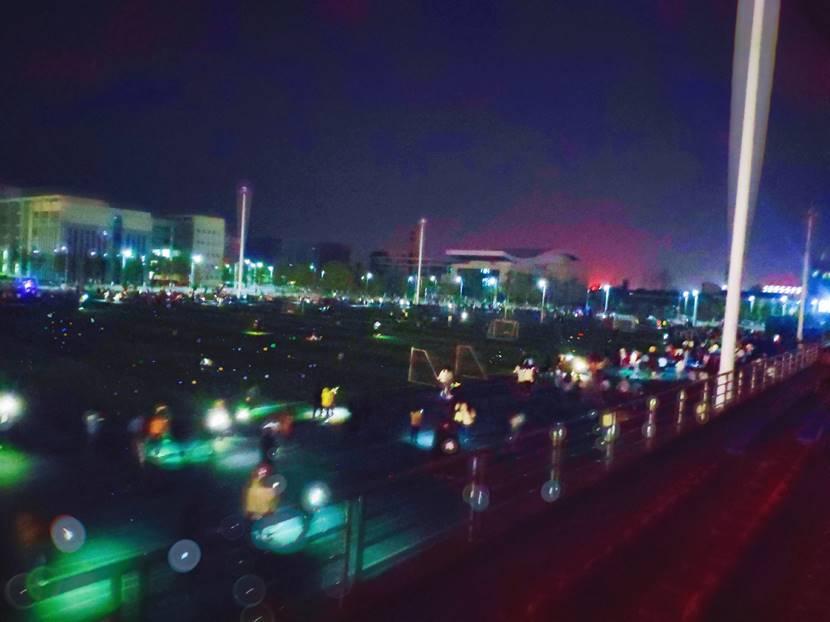 第一届湖南幼专荧光夜跑活动,完美收官!