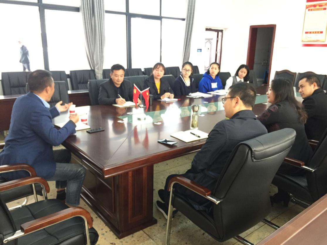 校领导杨跃华、张爱华来学前教育学院调研