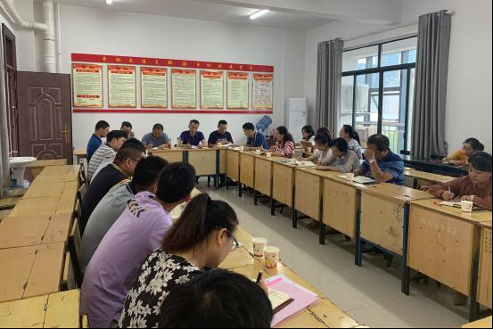 杨跃华副校长来基础教育学院开展